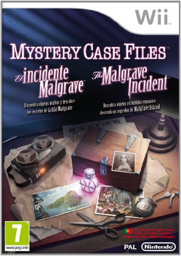 Wii MYSTERY CASE FILES: THE MALGRAVE INCIDENT