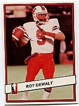 JOGO INC. 1985 Jogo Roy Dewalt Card #38 BC Lions Texa Arlington