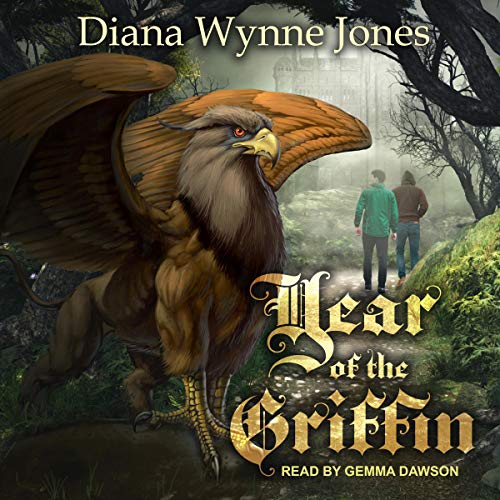 Year of the Griffin audiobook cover art