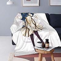 魅力的な芸術 ヴァイオレット・エヴァーガーデン 毛布 ブランケット ひざ掛け 洗いok 綿毛布 掛け毛布 通年使用 暖房 軽量 肩掛け 冷房対策 大判 車用 おしゃれ