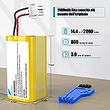 Zoom IMG-1 buture batteria di ricambio 14