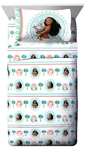 Disney Moana 'The Wave' 3 Piece Twin Sheet Set