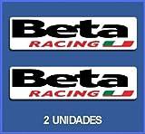 Ecoshirt OQ-447J-8MSF Pegatinas Stickers Beta Racing Ref: Dp619 Aufkleber Autocollants Adesivi Moto Decals Motrocycle, 5 cm