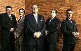22inch x 14inch/56cm x 35cm The Sopranos Season 1 Silk