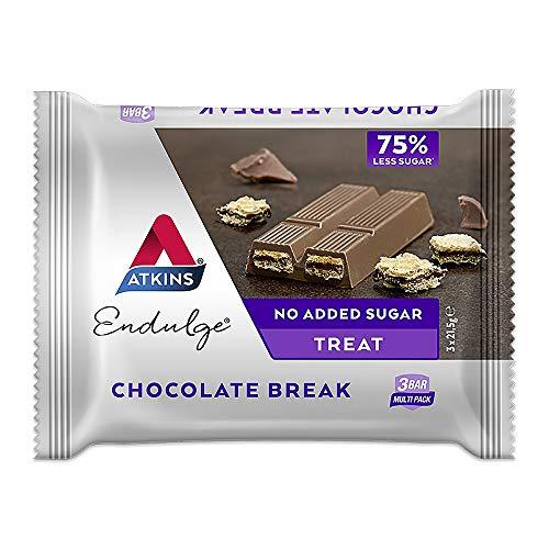 Atkins | Endulge Chocolate Break 3 Bar Pack | 14 X 64.5G