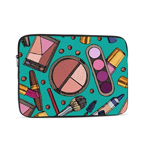 MacBook Assessories Beauty Makeup Colorful Girl Eye Shadow MacBook Air Case Multi-Color & Size Choices10/12/13/15/17 Inch Computer Tablet Briefcase Carrying Bag