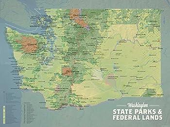 washinton state map