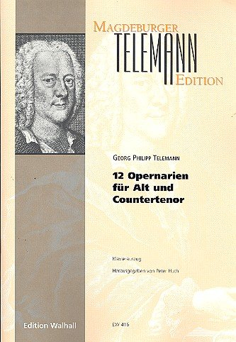 12 Opernarien für Alt (Countertenor) (Klavierauszug)