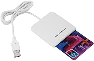 Oumij Credit Card Reader Portable USB Card Reader Full Speed Smart Chip Reader IC Mobile Bank Credit Card Readers