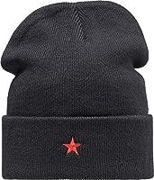 Strickmütze Motiv Revolution Red Star von Baddery