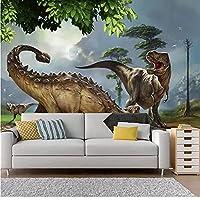 3D壁紙ポスター三次元恐竜カスタム大規模な壁紙の壁紙3Dテレビの背景リビングルームの写真の壁紙3Dルームの壁紙-140X100cm(55 x 39インチ)