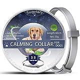 Collar de Perro Calmante, Collares de Perro Ajustables Anti-Ansiedad, Collar de Perro Calmante Natural Seguro, Collar de Feromonas Calmante de Larga Duración Impermeable Para Todos Los Perros