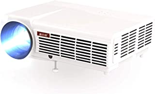 Mei Xu Projector - WiFi Internet Access, Wireless On-screen, Projection Screen 60-240 Inches, Resolution 1280*800 (support...