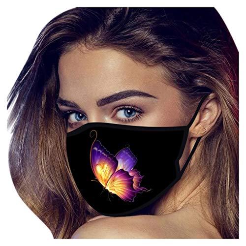 lady hill-iu Unisex Washable Reusable Mouth Face Warme winddichte Gesichtsmaske Gesichtsdekorationen