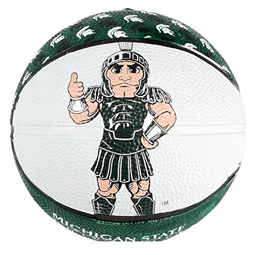 Lowest Prices! Rhode Island Novelty Michigan State University Spartans Sparty Green and White Mini B...