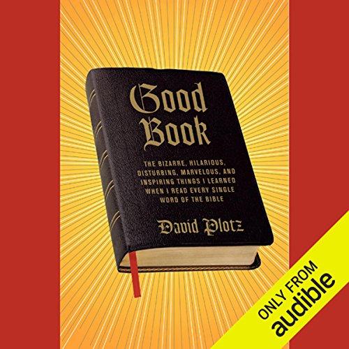 Good Book audiobook cover art
