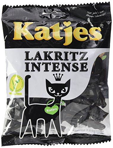 Katjes Lakritz Intense, 150 g
