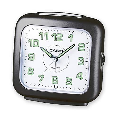 Casio - TQ-359-1EF - Alarm Clock - Quartz uurwerk - Analoog - Alarm - armband leder zwart