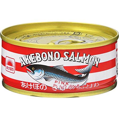 あけぼの 鮭水煮 EO缶90g