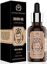 The Man Company Beard Growth Oil With Argan & Geranium For Beard Growth - 30Ml | Made in India