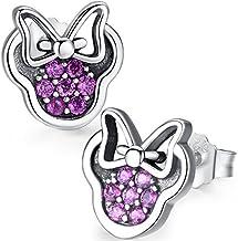Twenty Plus® Pendientes Mujer Deslumbrantes Diseños de Mickey Mouse del
