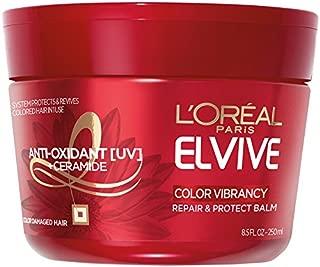L'Oréal Paris Elvive Color Vibrancy Repair and Protect Balm, 8.5 fl. oz. (Packaging May Vary)