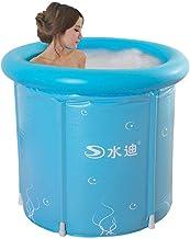 HEROTIGH Piscinas Hinchables Baño para Niños Barril Inflable Plegable Aislamiento De Fondo De Barril Acolchado 70X70Cm Inflatable Pool