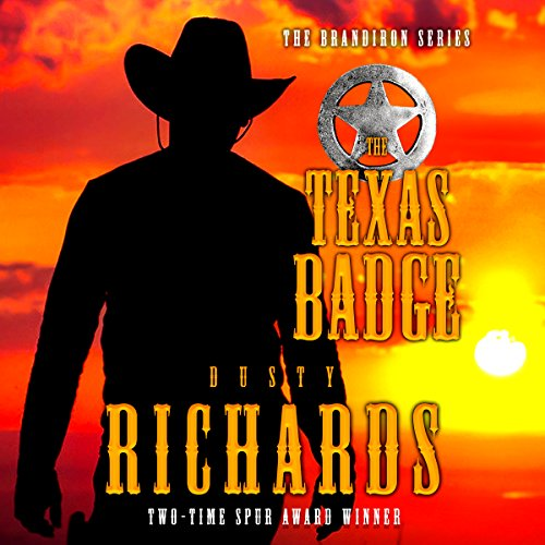 The Texas Badge audiobook cover art