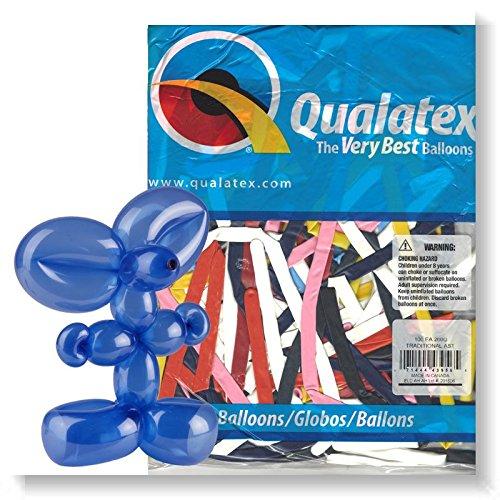Globos Qualatex 260 (10 Bolsas de 100 globos)