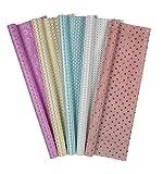 Idena 31086 - Premium Geschenkpapier, farbig Sortiert