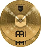 """Meinl 16"""" Marching Cymbal Pair with Straps - Brass Alloy Traditional Finish - Made In Ge..."""