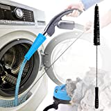 PetOde Dryer Vent Cleaner Kit Dryer Vent Vacuum Attachment Dryer Vent Cleaning kit with Guide Wire and Lint Trap Brush Simple Fast Lint Removing