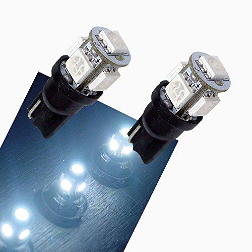 PA 2 X 5-5050 Ampoule LED pour Clignotant Camion 168 2825 T10 194 Blanc 24V