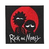 REAL EMPIRE Parche Bordado para Planchar o Coser, con Personajes Rick y Morty American Sitcom
