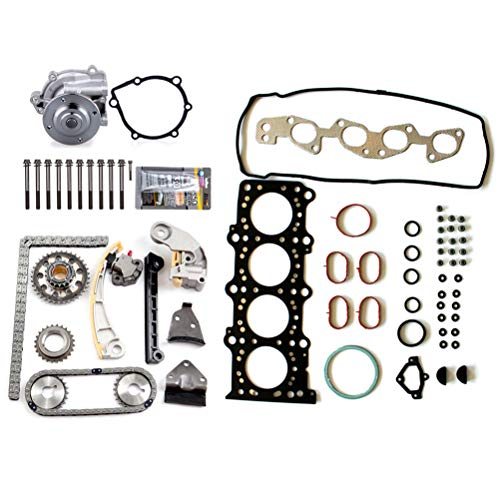 ANPART Automotive Replacement Parts Engine Kits Timing Chain Kit Water Pump Head Gasket Set Bolts Fit: Suzuki SX4 2.0L 2007-2009