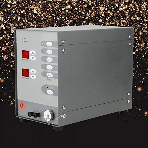 Eulbevoli Soldador NC de tamaño pequeño, Fuerte y Potente, de Potencia Ajustable, soldadora NC automática, para Soldadura de Oro Puro,(European Standard 220V)