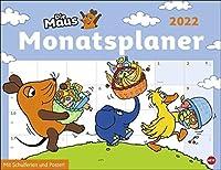 Die Maus Monatsplaner - Kalender 2022
