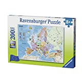 Ravensburger 12841 Map of Europe Jigsaw Puzzle 200 Pieces