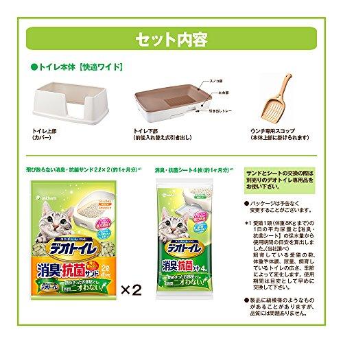 ユニ・チャームペット『デオトイレ快適ワイド』