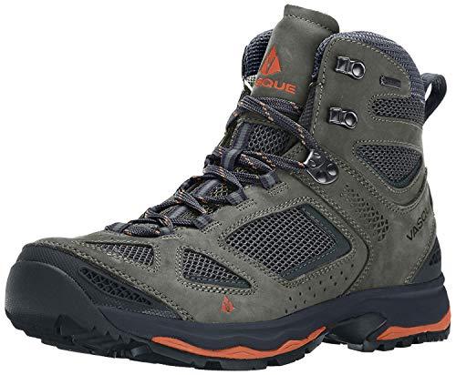 Vasque Men's Breeze III GTX Gore-Tex Waterproof Breathable Hiking Boot, Gargoyle/Rust, 11 M US