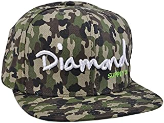Diamond Supply Co OG Script Camo Army Hip Hop Snapback Hat