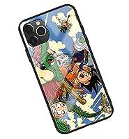 Dragon Ball ドラゴンボール iPhoneX IPHONE X スマートフォン ケース 強化ガラスケース 鏡面ガラス ハードケース アニメカバー 携帯カバー スマホケース スマホカバー 擦り傷防止 レンズ保護 (06)