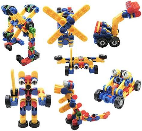 Skoolzy Klikio STEM Toys Kit Creative Building Blocks Educational Construction 98 Pc Learning product image