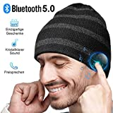 Bluetooth Mütze Herren Damen Geschenke, Bluetooth...