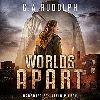 Worlds Apart     A Survival Story Yet Untold (Book Five of the What's Left of My World Series)              Written by:                                                                                                                                 C.A. Rudolph                               Narrated by:                                                                                                                                 Kevin Pierce                      Length: 8 hrs and 38 mins     1 rating     Overall 5.0