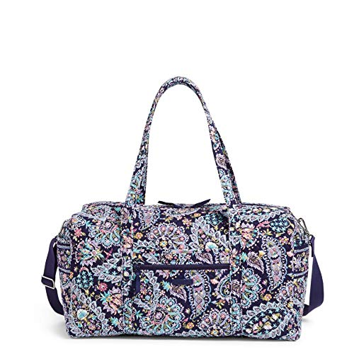 Vera Bradley womens Signature Cotton Duffel Travel Bag, French Paisley, Large 22 US