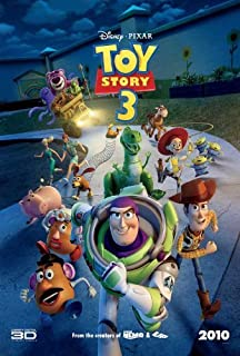 Toy Story 3 Movie Poster (27 x 40 Inches - 69cm x 102cm) (2010) Style Q -(Tom Hanks)(Tim Allen)(Michael Keaton)(R. Lee Ermey)(Joan Cusack)(Whoopi Goldberg) by MG Poster