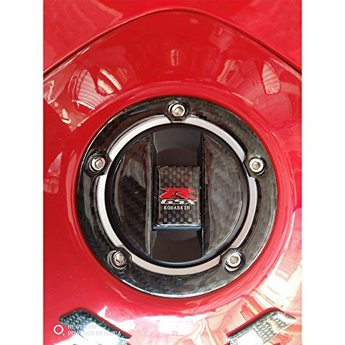 PRO-KODASKIN Real Carbon Gas Cap Tank Pad Filler Cover for GSXR 600 GSXR 750 GSXR 1000 K1 K2 K3 K4 K6 K7 K8 K9 L1 DL650 DL1000 B-KING1300