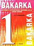 Bakarka, numéro 1 - Langue Basque