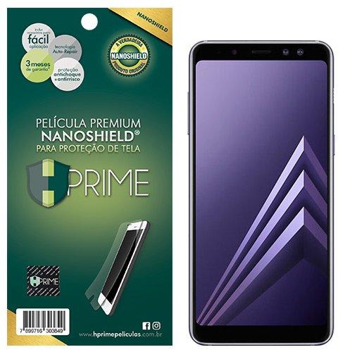 Pelicula HPrime NanoShield para Samsung Galaxy A8 Plus 2018, Hprime, Película Protetora de Tela para Celular, Transparente